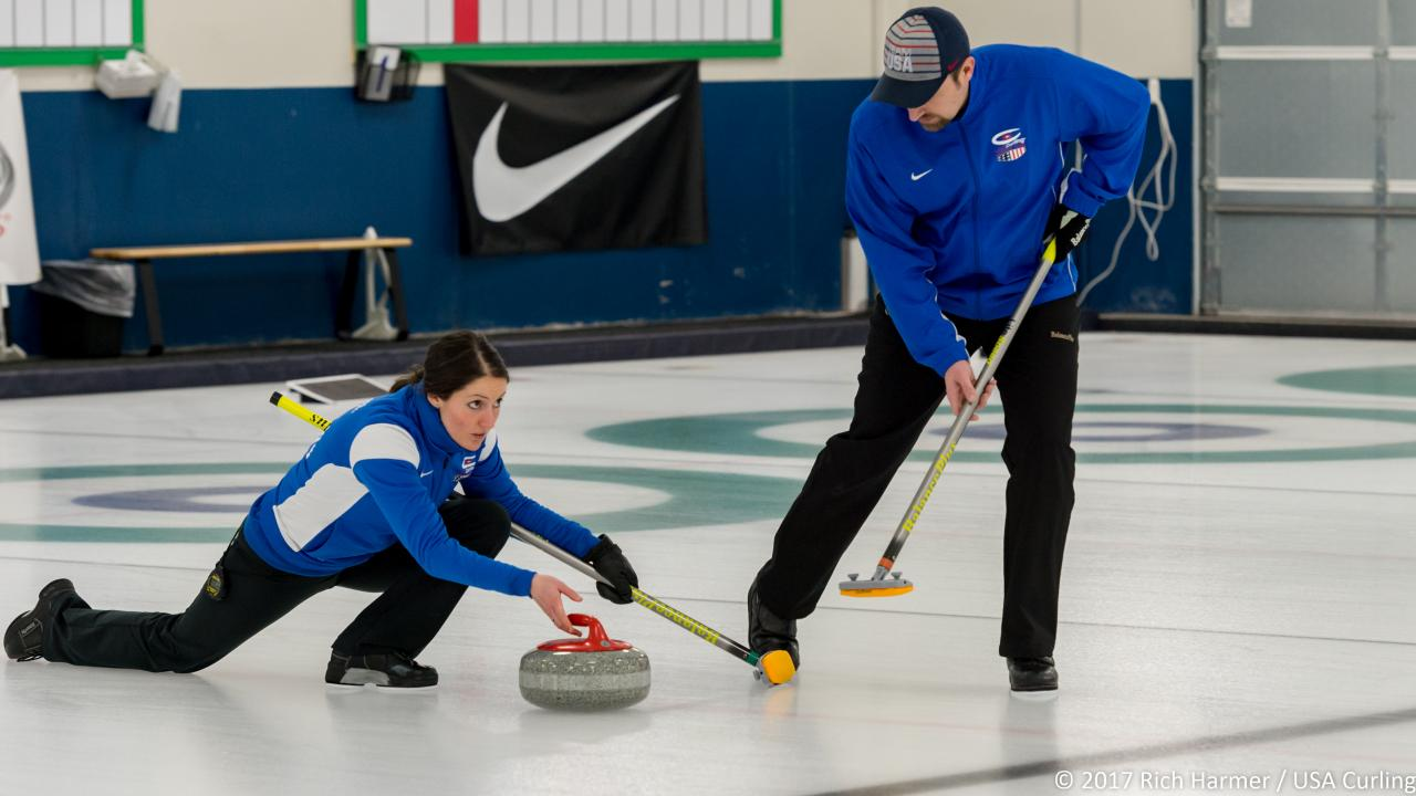 Winter 2018 Olympic Trials - Mixed Doubles Curling