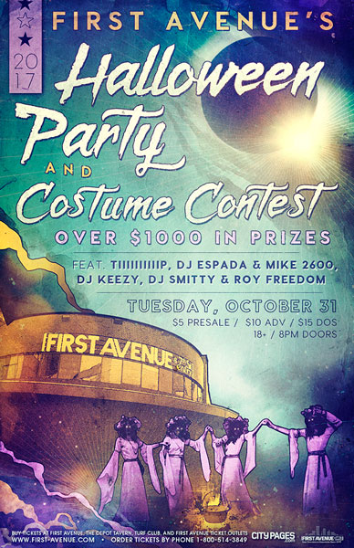 first avenue halloween party costume contest - Minneapolis Halloween Events