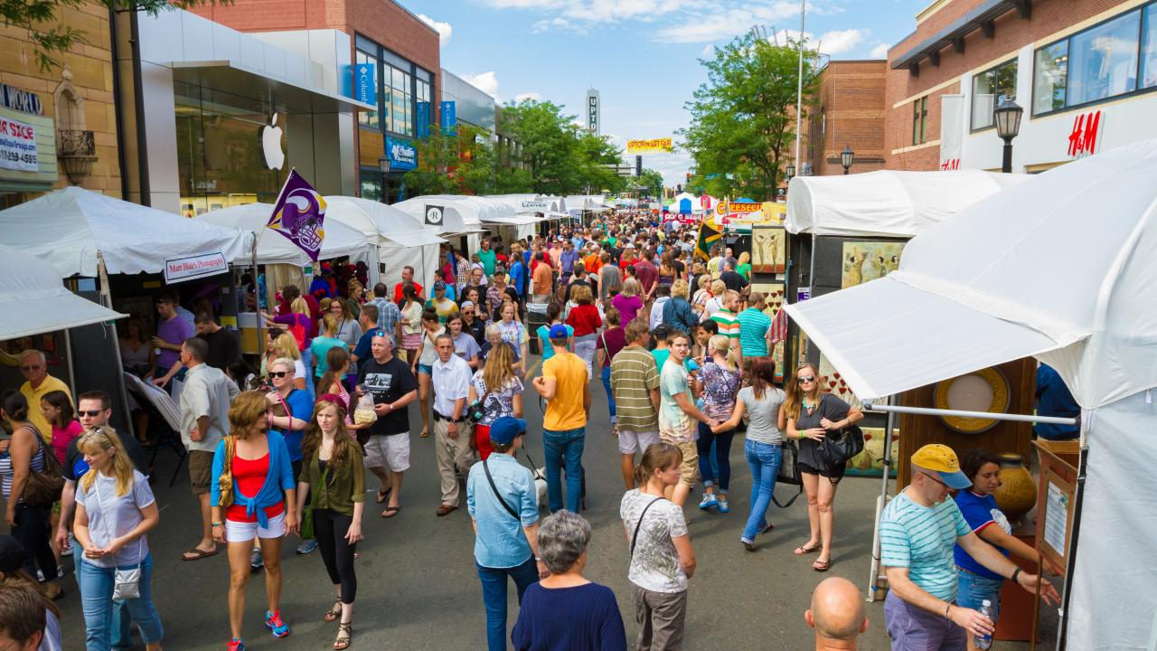 adventure through the uptown art fair - Minneapolis Halloween Events