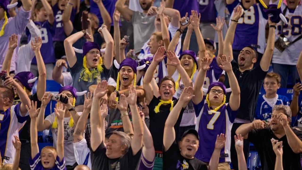 Cheer on the Vikings!